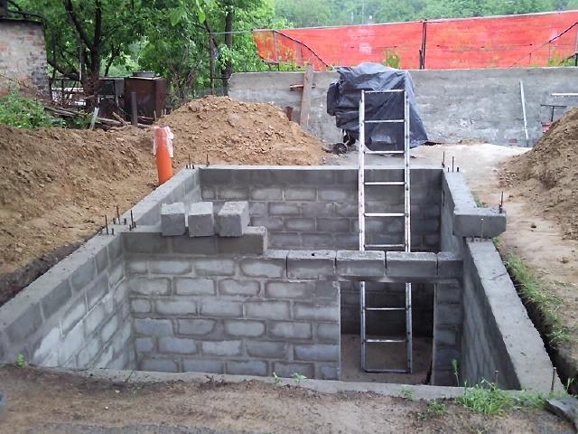 Построить гараж из шлакоблоков своими руками